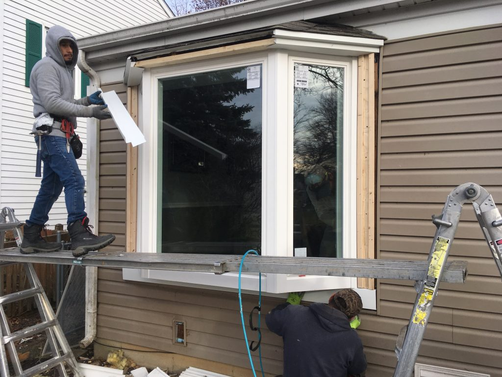 new window capping installation