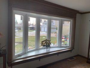 Bow Window installation Elgin Illinois