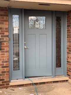 fiberglass door install elgin illinois