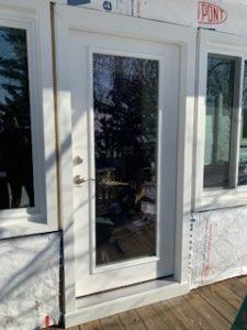 New Albany door after