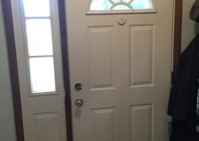 Hampshire Front Door Before