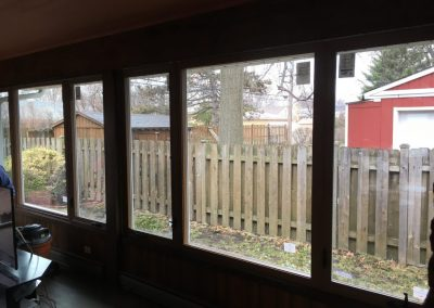 New Picture Window Installation