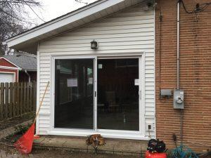 New Patio Door Installed Des Plaines