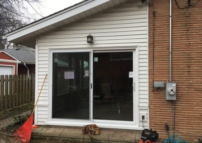 New Patio Door Installed Des Plaines