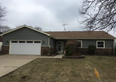finished exterior renovation in Schaumburg IL
