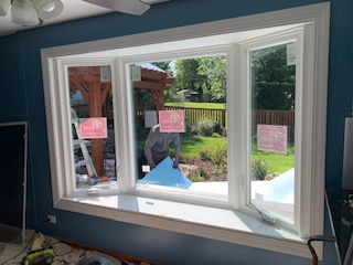 New Bay Window Installation Schaumburg