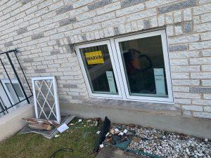 new windows being installed