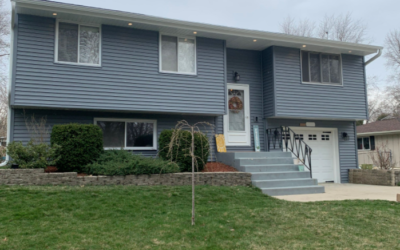 Schaumburg Vinyl Siding Project