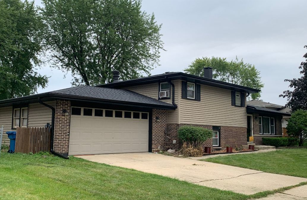 New Roof, Gutters, & Soffit in Hoffman Estates